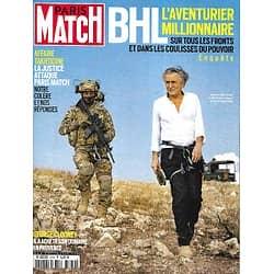 PARIS MATCH n°3762 10/06/2021  Bernard-Henri Levy, l'aventurier millionnaire/ Affaire Takieddine/ Les Clooney en Provence/ Kendji Girac au galop/ Meghan & Harry: le bébé de la paix