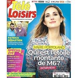 TELE LOISIRS n°1844 03/07/2021  Marie Portolano/ Cannes 2021/ Patrick Sébastien/ Spécial été/ L'Isle-Adam