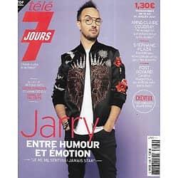 """TELE 7 JOURS n°3189 10/07/2021  Jarry, entre humour et émotion/ Anne-Claire Coudray/ """"Agatha Raisin""""/ Stéphane Plaza"""