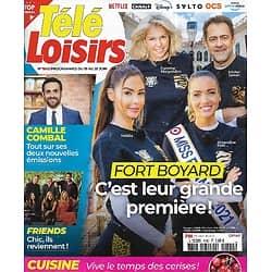 """TELE LOISIRS n°1842 19/06/2021  """"Fort Boyard"""" Candidats novices/ Camille Combal/ """"Friends"""" le retour/ """"Captain Fantastic""""/ Les Cathares"""