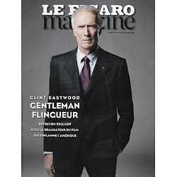 LE FIGARO MAGAZINE n°21927 06/02/2015  Clint Eastwood, gentleman flingueur/ Kobané, les larmes de la victoire/ Kaw, la Guyane côté marais