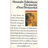"""""""Une journée d'Ivan Dénissovitch"""" Alexandre Soljénitsyne/ Bon état/ 1988/ Livre poche"""