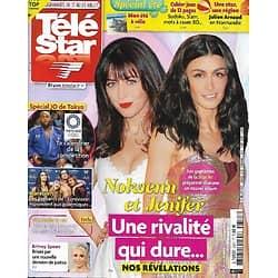 TELE STAR n°2337 17/07/2021  Nolwenn Leroy & Jenifer, une rivalité qui dure/ Spécial JO de Tokyo/ Britney Spears/ Amanda Lear/ William & Harry/ Hill & Spencer