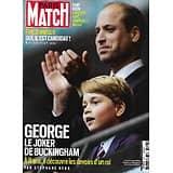 PARIS MATCH n°3766 08/07/2021  George, le joker de Buckingham/ L'Amérique en feu/ Zemmour candidat/ Dany Boon amoureux