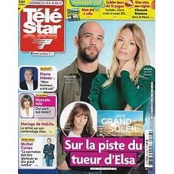 """TELE STAR n°2338 24/07/2021  """"Un si grand soleil"""" sur la piste du tueur d'Elsa/ Michel Cymes/ Pierre Ménès/ Clément Rémiens/ Mercato télé"""
