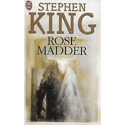 """Rose Madder"" Stephen King/ Très bon état/ 2000/ Livre poche"
