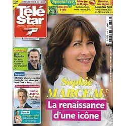 TELE STAR n°2339 31/07/2021  Sophie Marceau, la renaissance d'une icône/ Jean Dujardin/ Amandine Petit/ Julian MacMahon