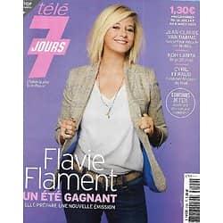 TELE 7 JOURS n°3192 31/07/2021  Flavie Flament/ Van Damme/ Julien Doré/ Le canal du Midi/ Laure Boulleau