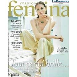 VERSION FEMINA n°1009 02/08/2021  Mode sirène: tout ce qui brille/ Cécile Cassel-HollySiz/ Sur les routes du Connemara/ Digital nomades
