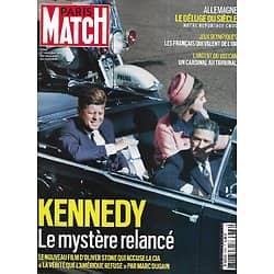 PARIS MATCH n°3768 22/07/2021  Kennedy, le mystère relancé/ L'argent du Vatican/ Déluge en Allemagne/ Français aux Jeux Olympiques