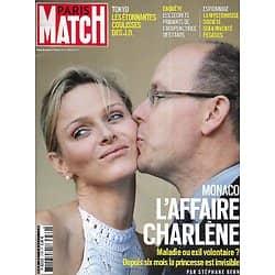 PARIS MATCH n°3769 29/07/2021  Monaco: l'affaire Charlène/ Billie Eilish, baby idole/ Coulisses des JO de Tokyo/ La France malade de son climat