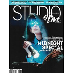 """STUDIO CINE LIVE n°77 mars 2016  """"Midnight special""""/ Science-fiction/ Adèle Exarchopoulos & Pierre Niney/ Serge Gainsbourg/ Claudia Cardinale"""