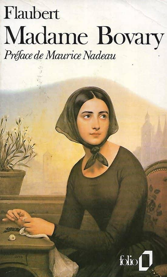 """Madame Bovary"" Gustave Flaubert/ Bon état/ 1989/ Folio/ Livre poche"