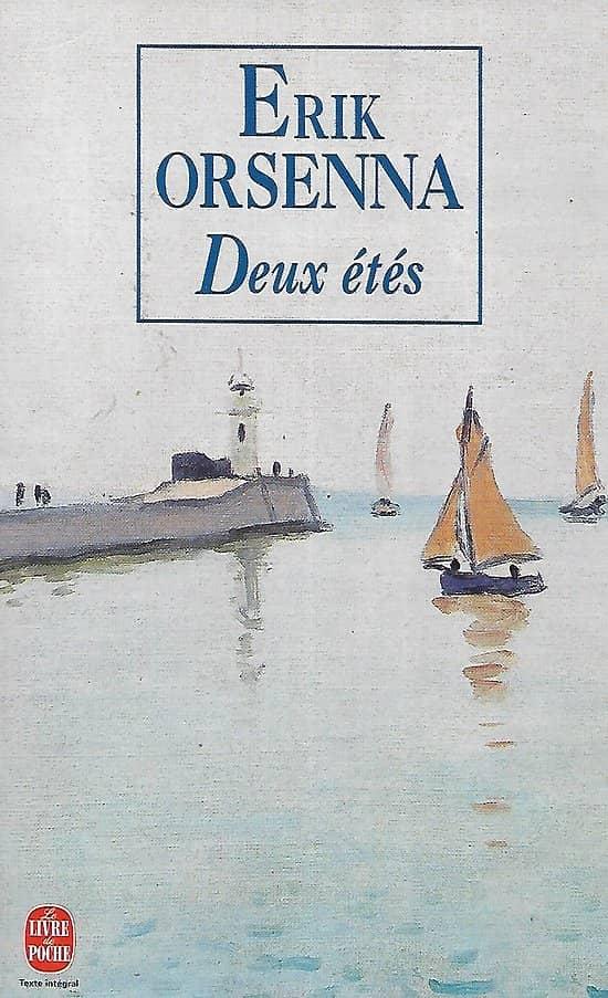 """""""Deux étés"""" Erik Orsenna/ Très bon état/ 1998/ Livre poche"""