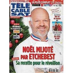 """Télé Cable Sat n°1337 19/12/2015  Philippe Etchebest/ """"Les 12 Noël de Kate""""/ Frank Sinatra/ Benjamin Millepied/ """"Whiplash"""""""