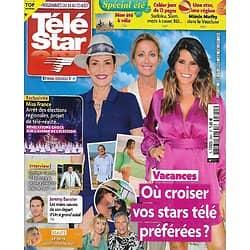 "TELE STAR n°2341 14/08/2021  Où croiser vos stars télé préférées?/ Jeremy Banster/ ""Ils étaient dix""/ Miss France/ Norbert Tarayre/ Alain Bashung/ ""NCIS"""
