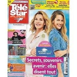 """TELE STAR n°2342 21/08/2021  """"Demain nous appartient"""" 1000è épisode/ """"Koh-Lanta: la légende""""/ Patrick Bruel/ Lââm/ Claude François"""