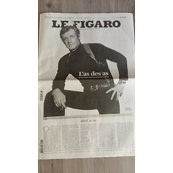 Journal Le Figaro n°23964 07/09/2021  L'as des as, Jean-Paul Belmondo 1933-2021