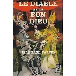 """""""Le Diable et le Bon Dieu"""" Jean-Paul Sartre""""/ Bon état/ 1966/ Le Livre de Poche"""
