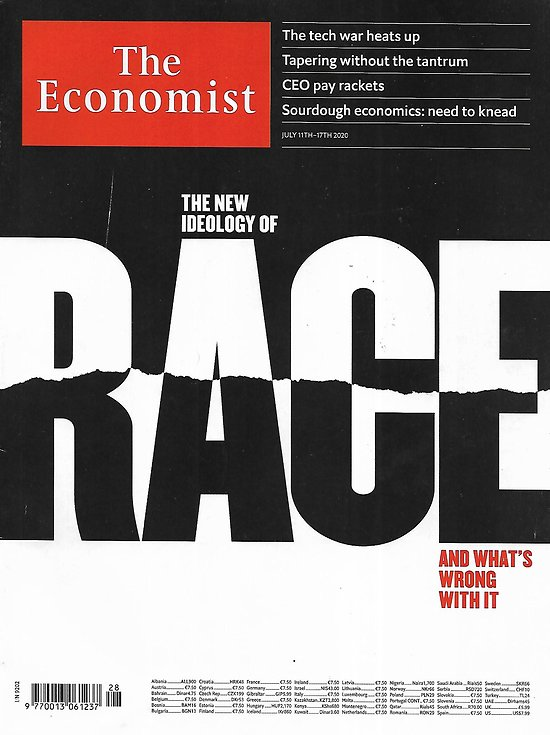 THE ECONOMIST Vol.436 n°9202 11/07/2020  The new ideology of race and what's wrong with it