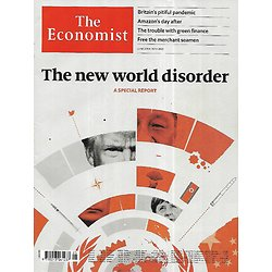 THE ECONOMIST Vol.435 n°9199 20/06/2020  The new world disorder, a special report/ Britain's pitiful pandemic/ Amazon's day after/ Green investing/ Pandemic and wars