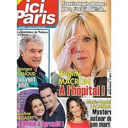 "ICI PARIS n°3941 13/01/2021  Brigitte Macron/ Georges Pernoud/ Marie-Sophie Lacarrau/ Faustine Bollaert/ Ava Gardner/ Giuliano Gemma/ ""Top Chef""/ Daniel Balavoine"