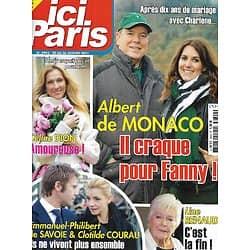 "ICI PARIS n°3942 20/01/2021  Albert de Monaco/ Céline Dion/ Line Renaud/ Emmanuel-Philibert de Savoie & Clotilde Courau/ Faye Dunaway/ Al Pacino/ ""La Promesse"""