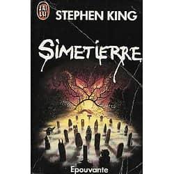 """Simetierre"" Stephen King/ Etat correct/ 1992/ Livre poche"