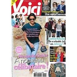 VOICI n°1740 09/04/2021  Alessandra Sublet/ Laeticia Hallyday/ Bernard Tapie/ Pierre-Jean Chalençon/ Michael Bublé/ Spécial mode