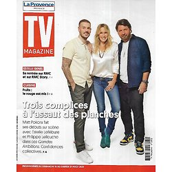 TV MAGAZINE 15/08/2021 n°1802  M. Pokora, Estelle Lefébure & Philippe Lellouche au théâtre
