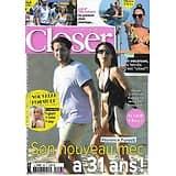 CLOSER n°846 27/08/2021  Florence Foresti/ Vitaa/ J.Lo & Ben Affleck/ Renée Zellweger/ Scarlett Johansson/ Emily Blunt/ Britney Spears