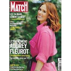PARIS MATCH n°3773 26/08/2021  Le phénomène Audrey Fleurot/ Les talibans sèment la mort/ La rupture de Melinda & Bill Gates/ Angelina Jolie, Women for bees