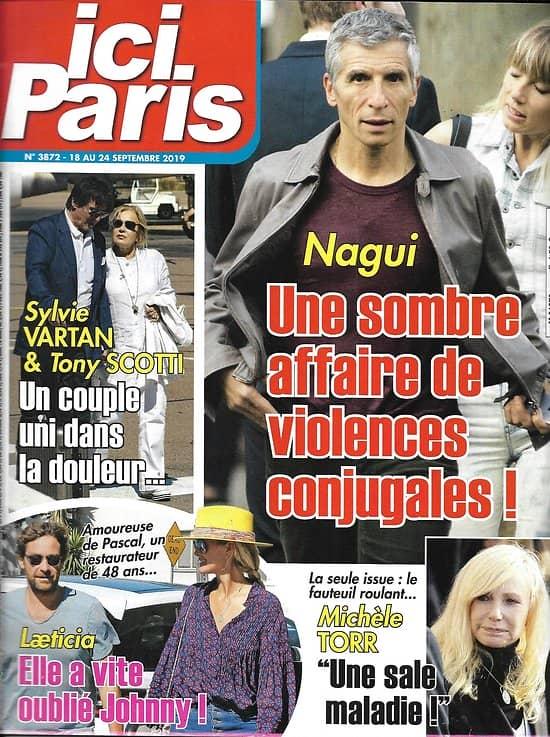 ICI PARIS n°3926 30/09/2020  Nagui/ Juliette Gréco/ Claire Keim/ Alain Souchon/ Jacques Demy/ Anthony Delon