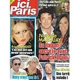"""ICI PARIS n°3927 07/10/2020  Nathalie Marquay/ Brigitte Bardot/ Michel Drucker/ Julien Courbet/ Michèle Mercier/ """"Ici tout commence"""""""