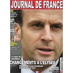 JOURNAL DE FRANCE n°65 mai 2021  Emmanuel Macron/ Sheila/ / Belmondo jr/ Pascal Praud/ Amanda Lear/ La famille Kennedy/ Céline Dion/ Catherine Deneuve