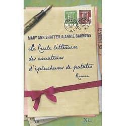 """""""Le cercle littéraire des amateurs d'épluchures de patates"""" Mary Ann Shaffer & Annie Barrows/ Bon état/ Livre broché"""