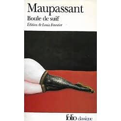 """""""Boule de Suif"""" (et autres nouvelles) Maupassant/ Très bon état/Folio/ 2000/ Livre poche"""