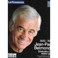LA PROVENCE n°101 03/10/2018   1933-2021, Jean-Paul Belmondo, itinéraire d'un acteur gâté