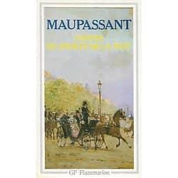 """""""Contes du jour et de la nuit"""" Maupassant/ Très bon état/ GF-Flammarion/ 1977/ Livre poche"""