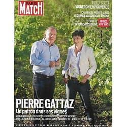PARIS MATCH supplément n°3775 09/09/2021   Pierre Gattaz, un patron dans ses vignes/ Ridley Scott, vigneron en Provence