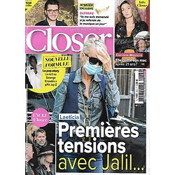 CLOSER n°849 17/09/2021  Laeticia Hallyday & Jalil Lespert/ Corinne Masiero/ Olympe/ Beyoncé & Jay-Z/ Jean-Paul Belmondo