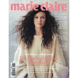 MARIE CLAIRE n°795 novembre 2018  De beaux cheveux facilement/ Stop au sexisme/ Gilles Lellouche/ Haute couture/ Marina Foïs