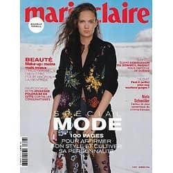 MARIE CLAIRE n°817 octobre 2020  Spécial Mode/ Mélanie Thierry/ Roman noir féministe/ Niels Schneider/ La jeunesse polonaise en résistance
