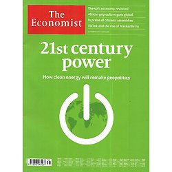 THE ECONOMIST Vol.436 n°9212 19/09/2021  21st century power: clean energy remake geopolitics
