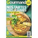 GOURMAND n°465 06/04/2021  Nos tartes 100% légumes/ Manger 100% de saison/ Le poulet en 4 versions/ Douceurs à la noix de coco