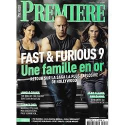 "PREMIERE n°520 juillet-août 2021  Fast & Furious 9/ Dwayne Johnson & Emily Blunt ""Jungle Cruise""/ Jean-Claude Van Damme/ Cannes 2021"