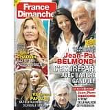 FRANCE DIMANCHE n°3885 12/02/2021  Jean-Paul Belmondo/ Ingrid Chauvin/ Vanessa Paradis/ JP Descombes/ Brigitte Bardot/ Benjamin Castaldi