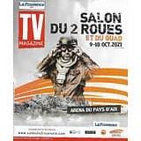 """TV MAGAZINE 03/10/2021 n°1809  Audrey Lamy & Alex Lutz/ Marie Portolano/ Cécile Grès/ """"007 Spectre"""""""