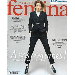 VERSION FEMINA n°1018 04/10/2021  Les costumes revisités/ Bérénice Bejo/ Dossier mieux manger/ La ménopause