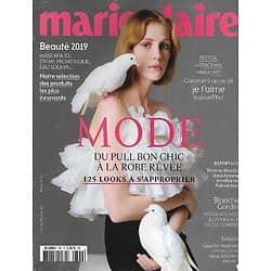 MARIE CLAIRE n°799 mars 2019  Spécial Mode/ L'amour sur les réseaux/ Camille Cottin/ Blanche Gardin/ Prix beauté